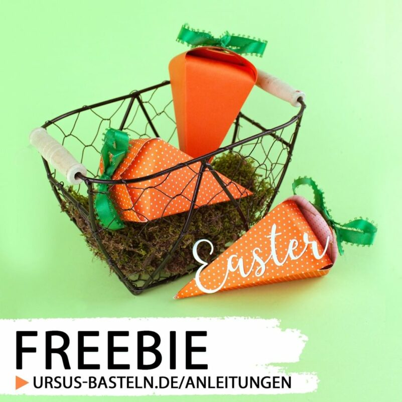 Freebie Möhrenbox