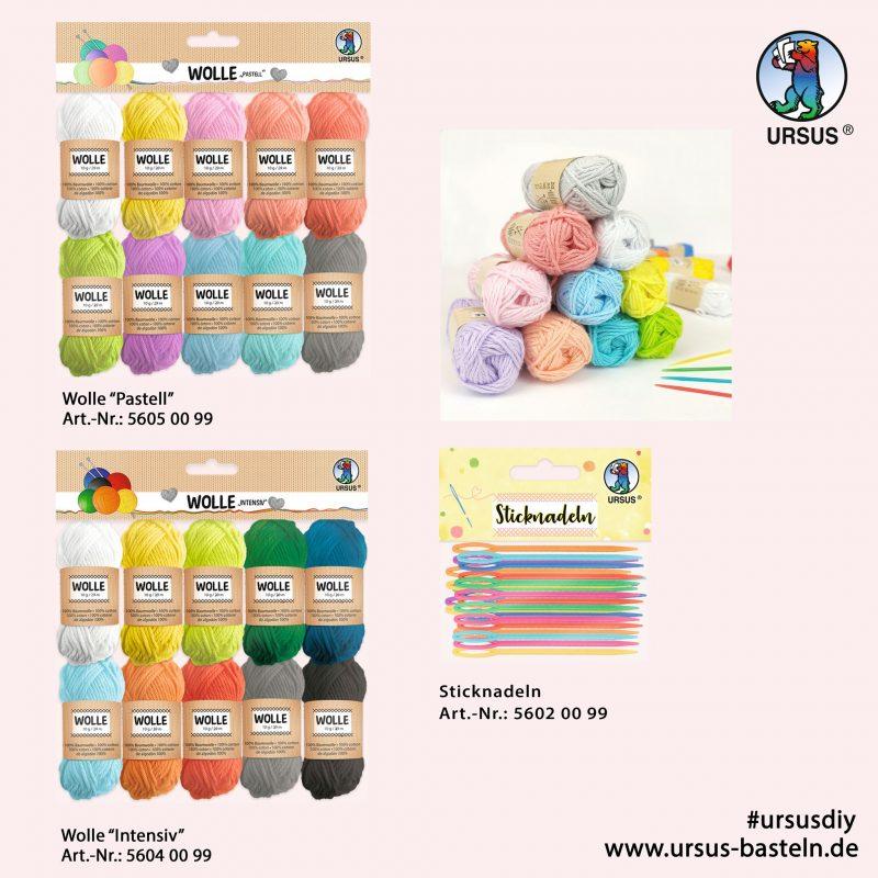 Wool pastel