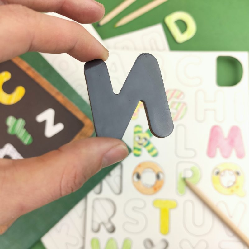 "Blank magnets ""Letters"" and ""Numbers & Symbols"
