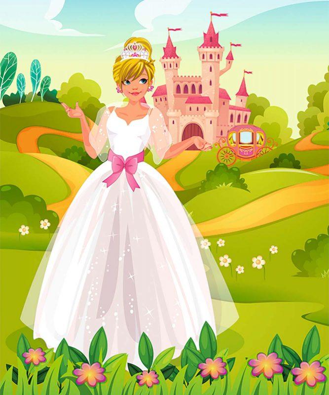 24530001F Feen und Prinzessinnen 6 motifs