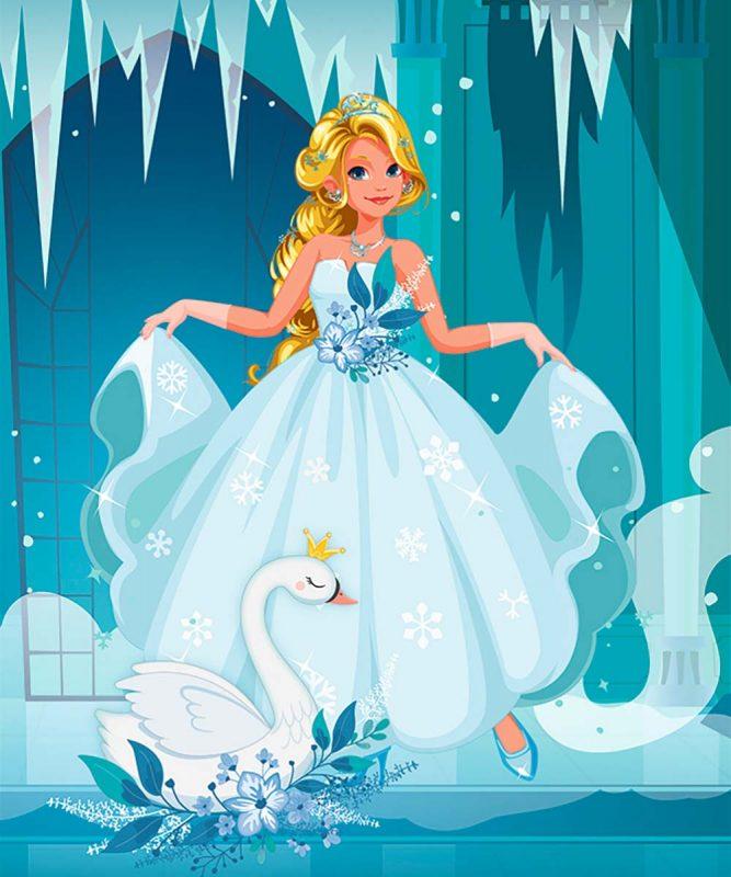 24530001F Feen und Prinzessinnen 9 motifs