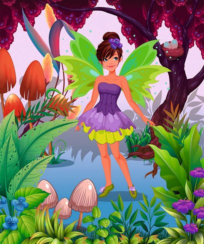 24530001F Feen und Prinzessinnen 11 motifs