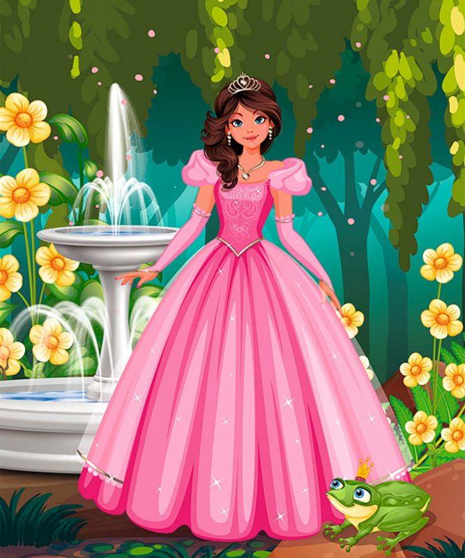 24530001F Feen und Prinzessinnen 12 motifs