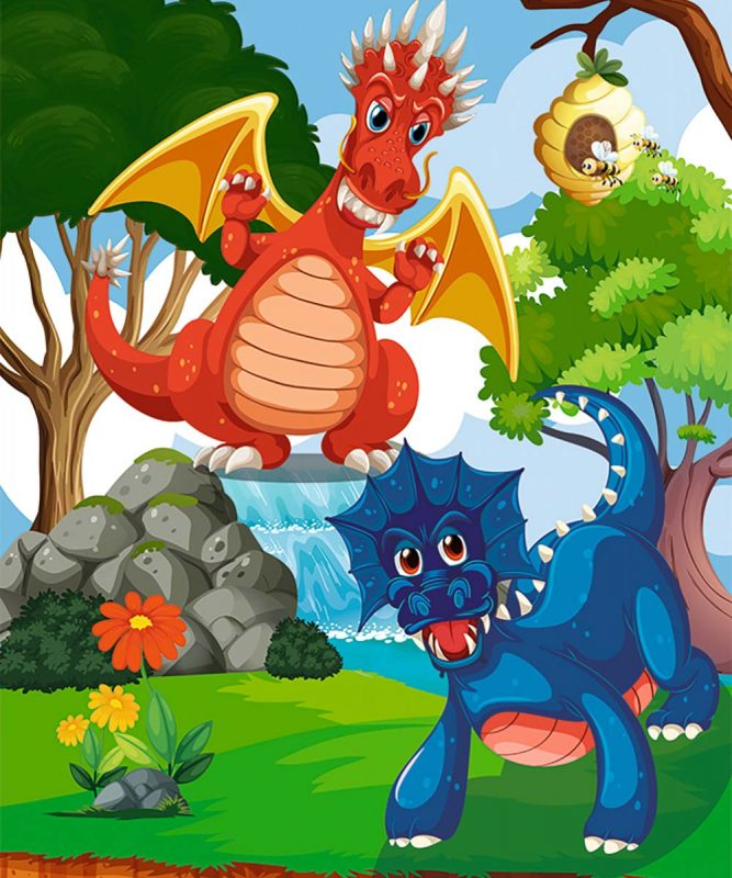 24530002F Mein Drachen und Dinos 1 motifs