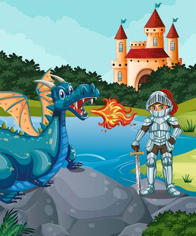 24530002F Mein Drachen und Dinos 4 motifs