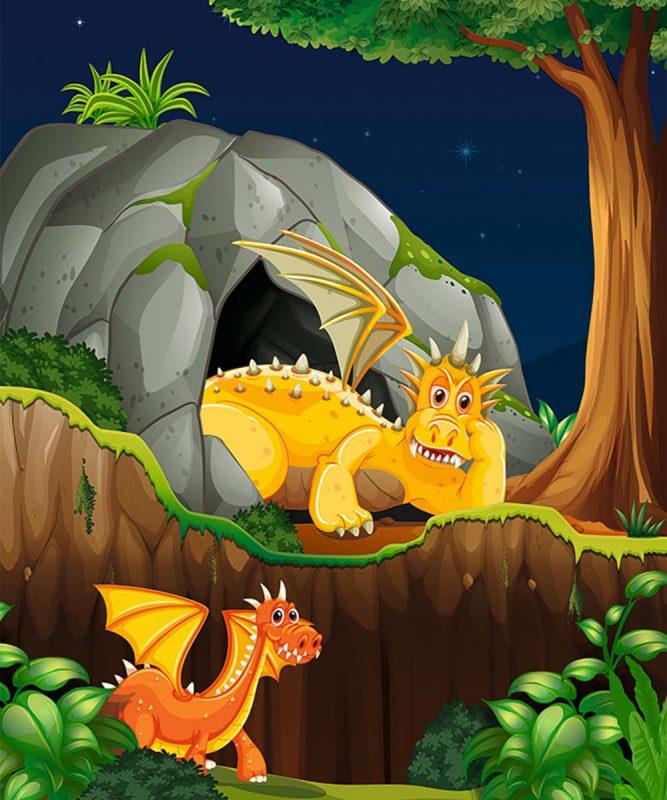 24530002F Mein Drachen und Dinos 10 motifs