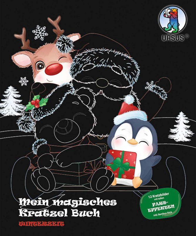 Mein magisches Kratzel Buch Winterzeit Art.-Nr.: 24530003F