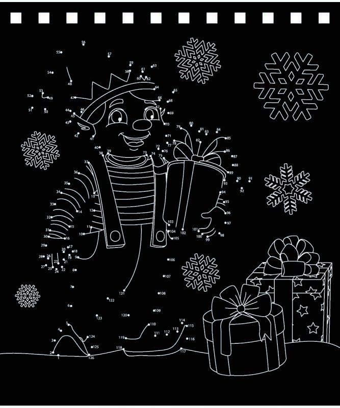 Magischer Kratzel-Adventskalender Art.-Nr.: 24890000F