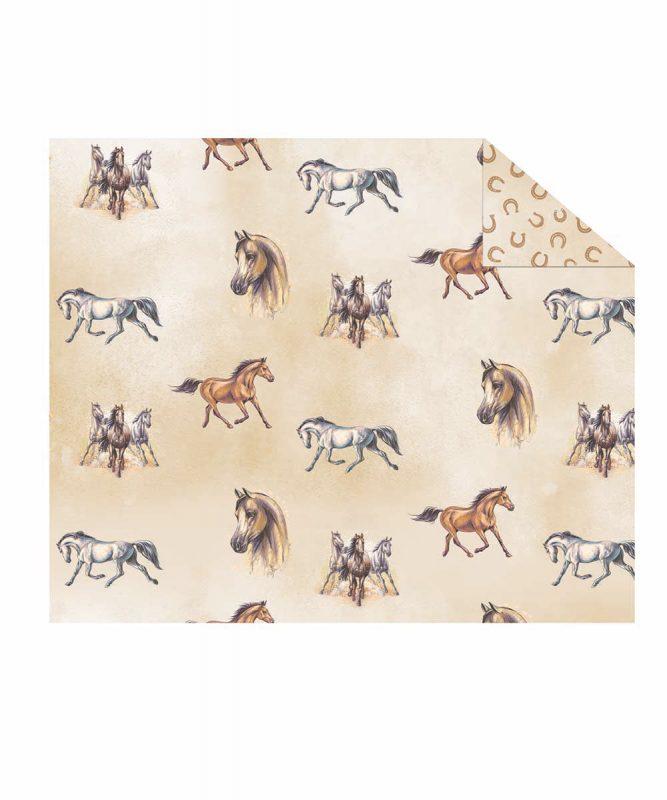 "Photo cardboard ""Horses"" 300 g/m² Item no. 11252202F 49.5 x 68 cm"