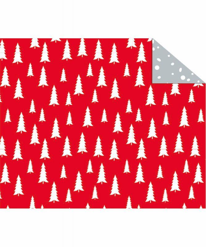 "Fotokarton ""Nordic Christmas"" 300 g/m² Bäume 49,5 x 68 cm Art.-Nr.: 11262201F"