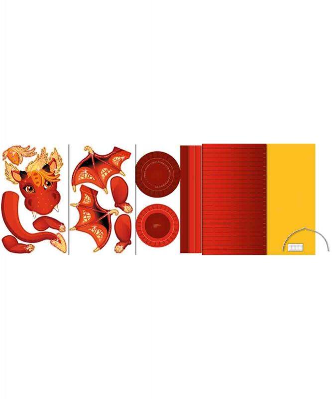 URSUS® Laternen Bastelset Drache 15 Art.-Nr.: 18720015F