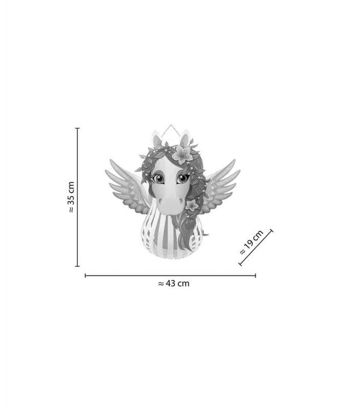 URSUS® Laternen Bastelset Pegasus 16 Art.-Nr.: 18720016F