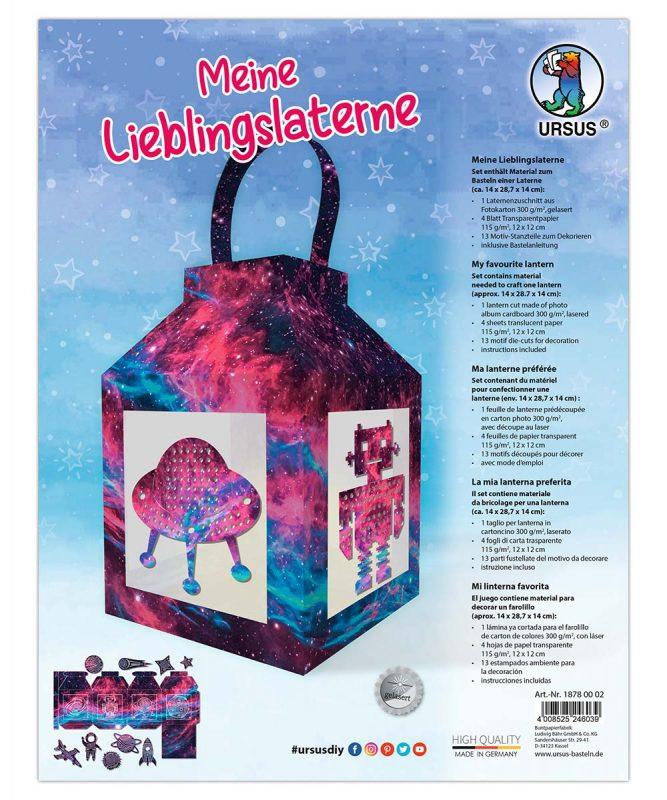 URSUS® Meine Lieblingslaterne Nebula, Art.-Nr.: 18780002