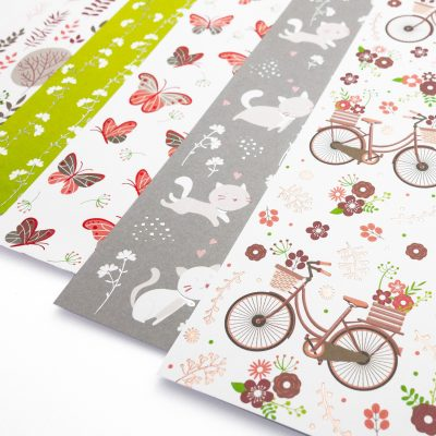 "Design cardboard ""Romance"" Item no.: 63454602F"