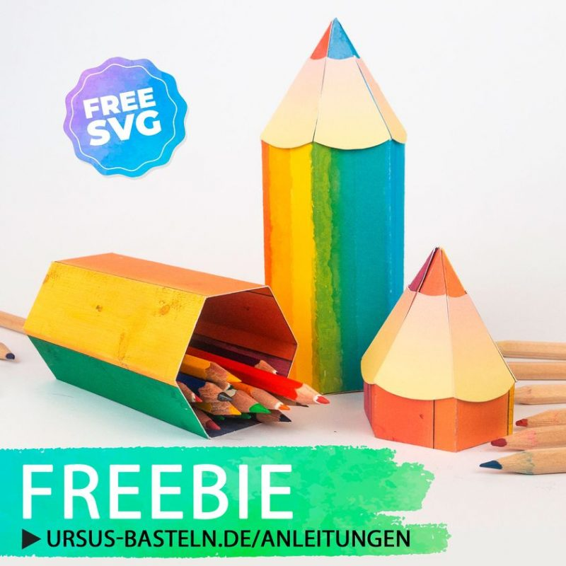 rainbow pencil box