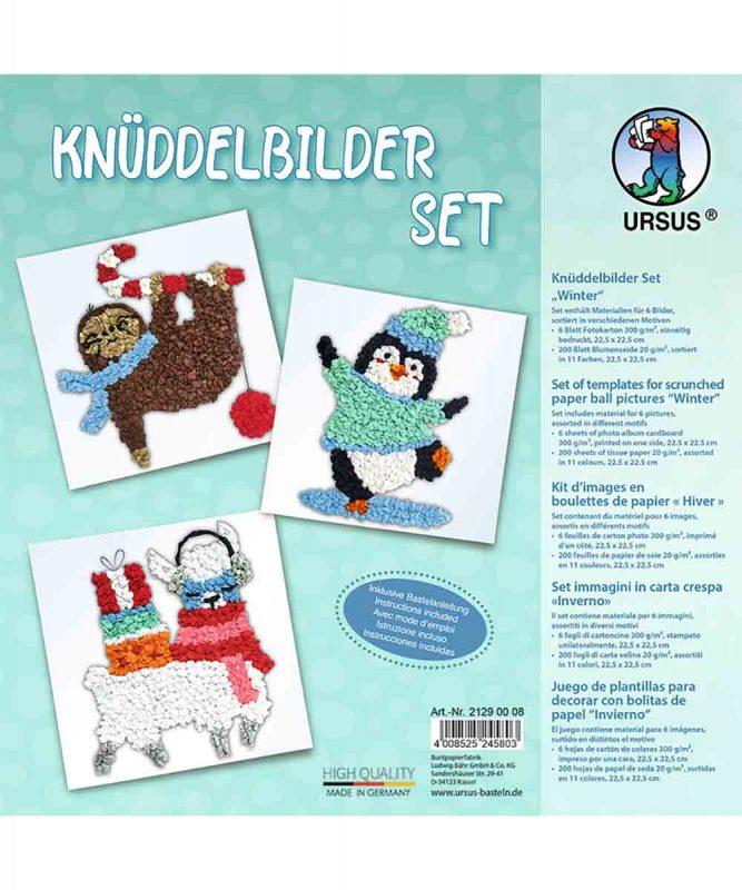 Knüddelbilder Set Winter Art.-Nr.: 21290008