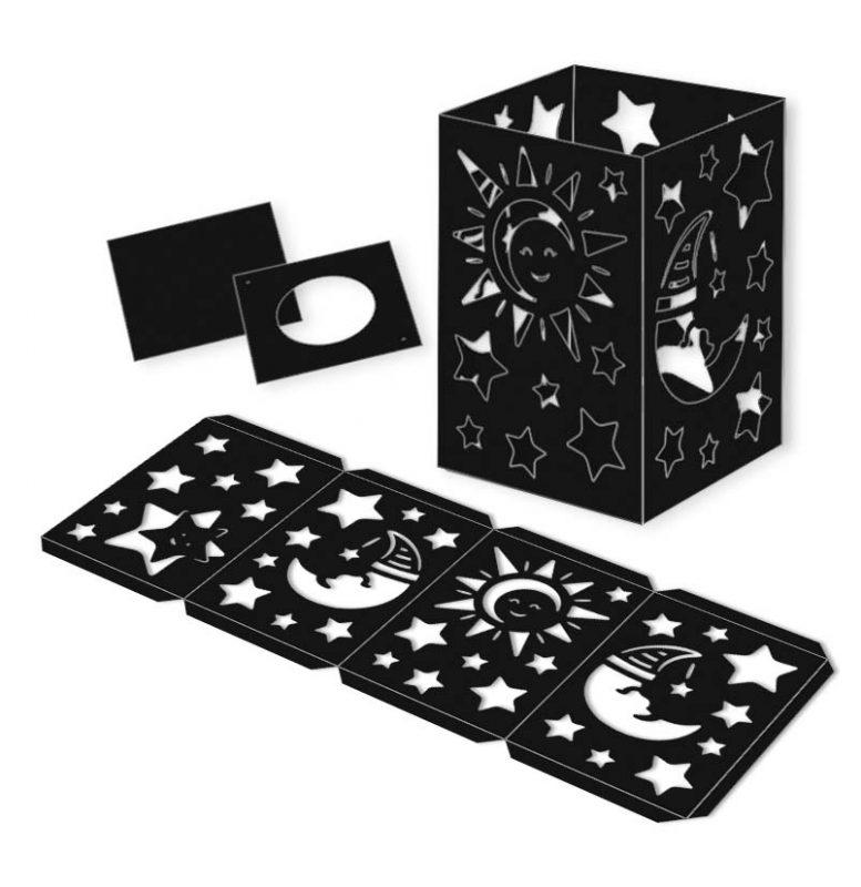 Laternenpackung Sonne, Mond & Sterne Art.-Nr.: 2360090