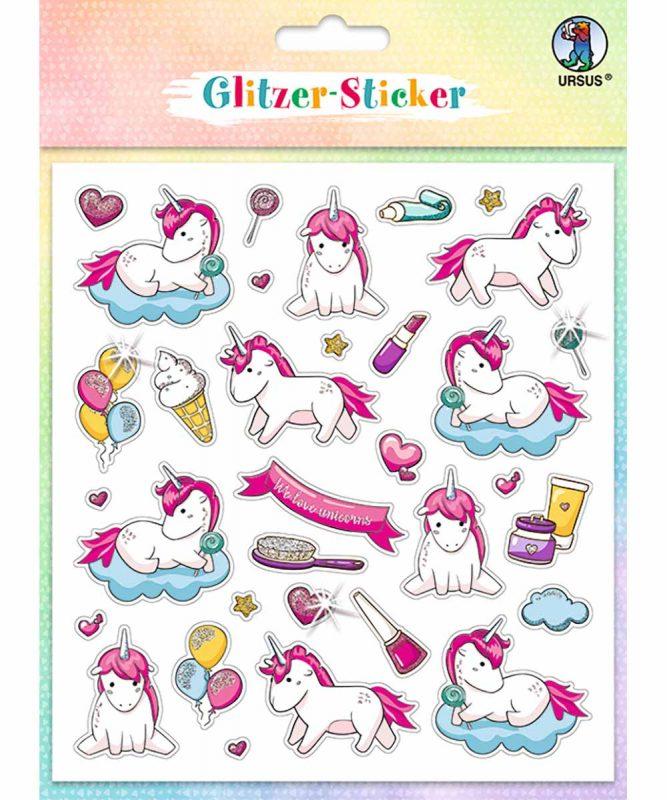 """Glitzer-Sticker """"Fun"""" Art.-Nr.: 59540001"""