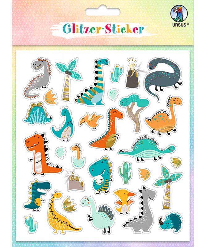 """Glitzer-Sticker """"Fun"""" Art.-Nr.: 59540002"""