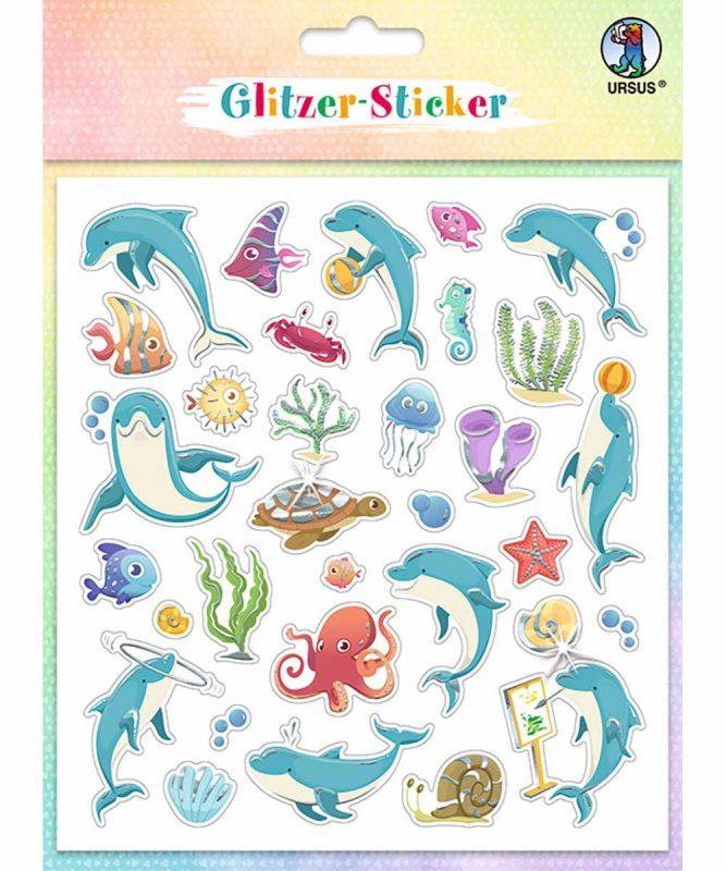 """Glitzer-Sticker """"Fun"""" Art.-Nr.: 59540003"""