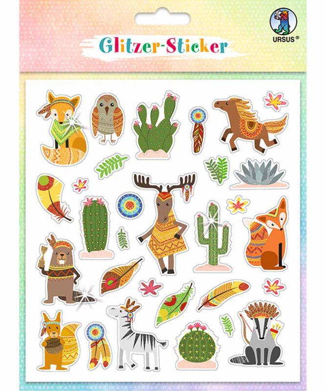 """Glitzer-Sticker """"Fun"""" Art.-Nr.: 59540004"""