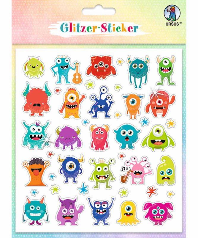"""Glitzer-Sticker """"Fun"""" Art.-Nr.: 59540005"""