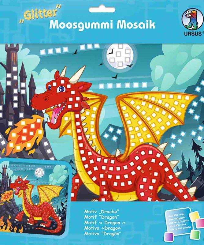 Moosgummi Mosaik Drache Art.-Nr.: 8420016