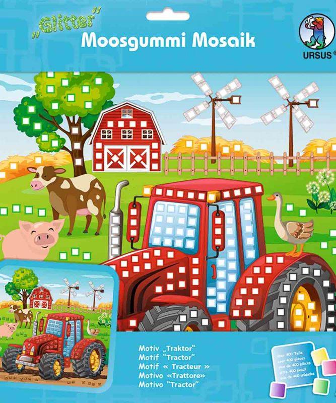 Moosgummi Mosaik Traktor Art.-Nr.: 8420017