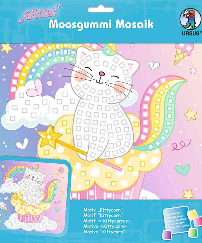 Moosgummi Mosaik Kittycorn Art.-Nr.: 8420018