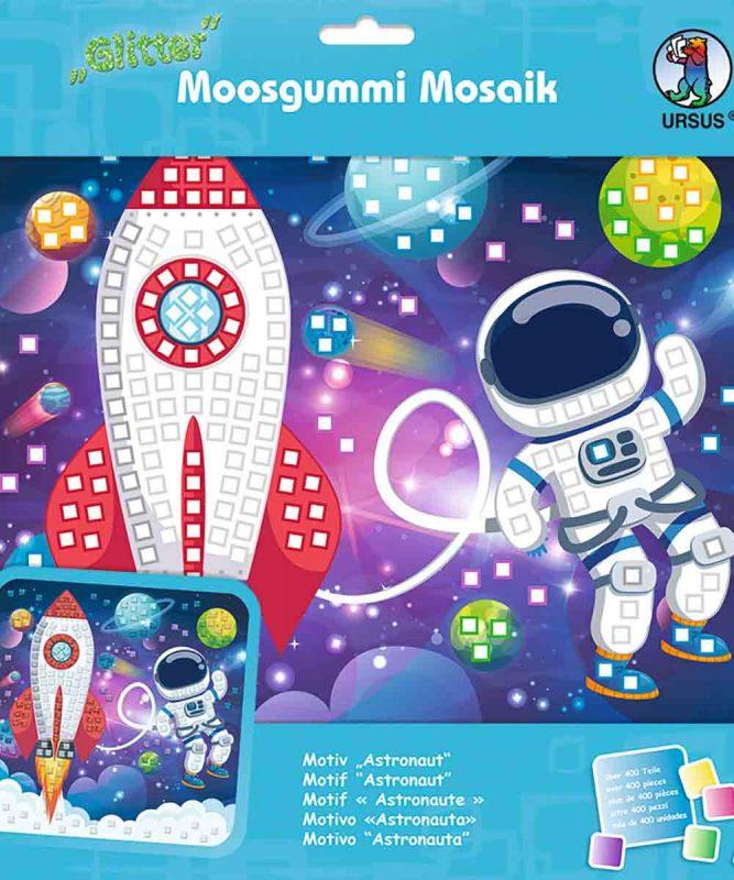 Moosgummi Mosaik Astronaut Art.-Nr.: 8420019