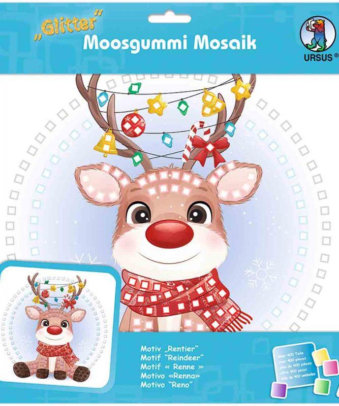 Moosgummi Mosaik Rentier Art.-Nr.: 8420020