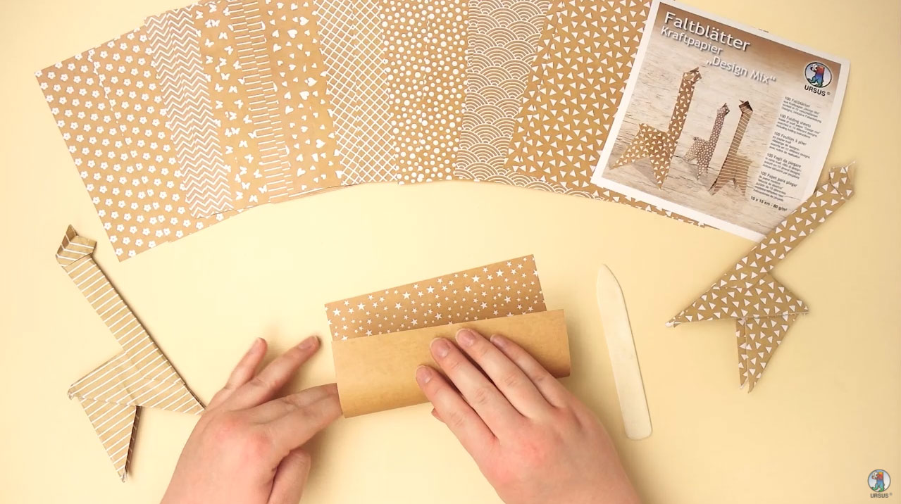 "URSUS® Folders Kraft Paper ""Design Mix"" Video"
