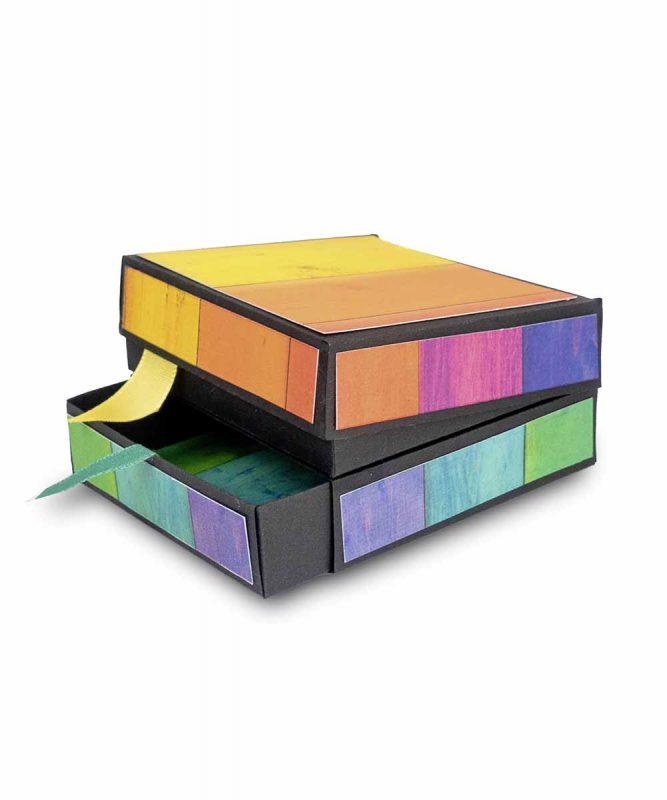 """Fotokarton """"Regenbogen"""" Holz 300 g/m² Art.-Nr.: 11332201"""