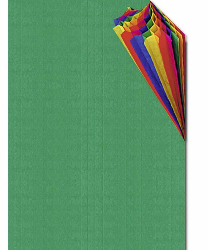 Regenbogen-Wabenpapier 23 x 33 cm, 1 Blatt in einer Farbkombination Art.-Nr.: 16400099