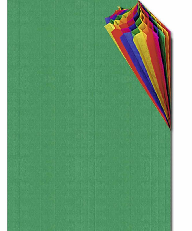 Regenbogen-Wabenpapier 34,5 x 49,5 cm, 1 Blatt in einer Farbkombination Art.-Nr.: 16413299
