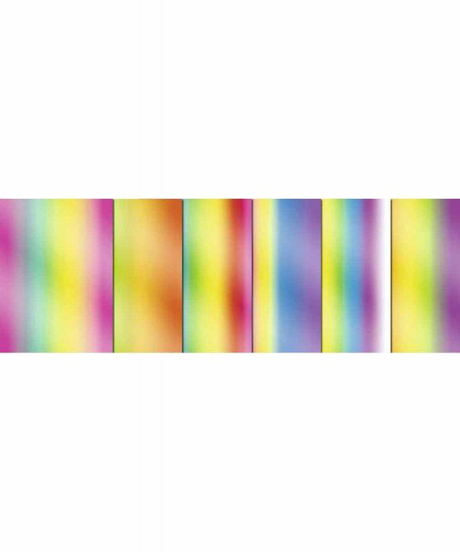 Regenbogen-Buntpapier 50 x 70 cm, sortiert in verschiedenen Farbkombinationen 115 g/m² Art.-Nr.: 1882299