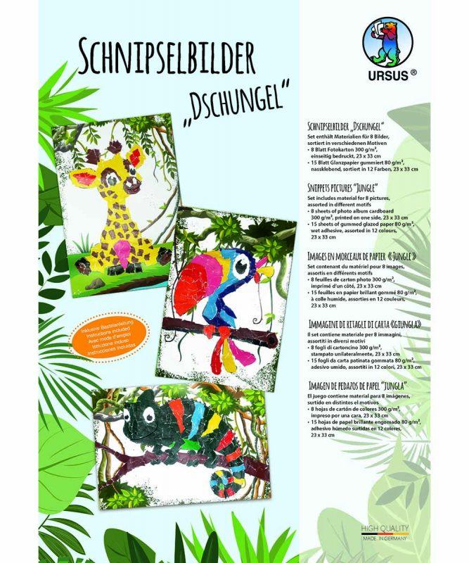 Schnipselbilder Dschungel Art.-Nr.: 21320099