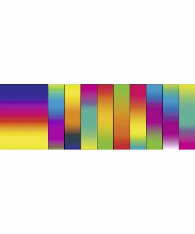 Regenbogen-Transparentpapier 50,0 x 61 cm, sortiert in verschiedenen Farbkombinationen 115 g/m² Art.-Nr.: 2510000
