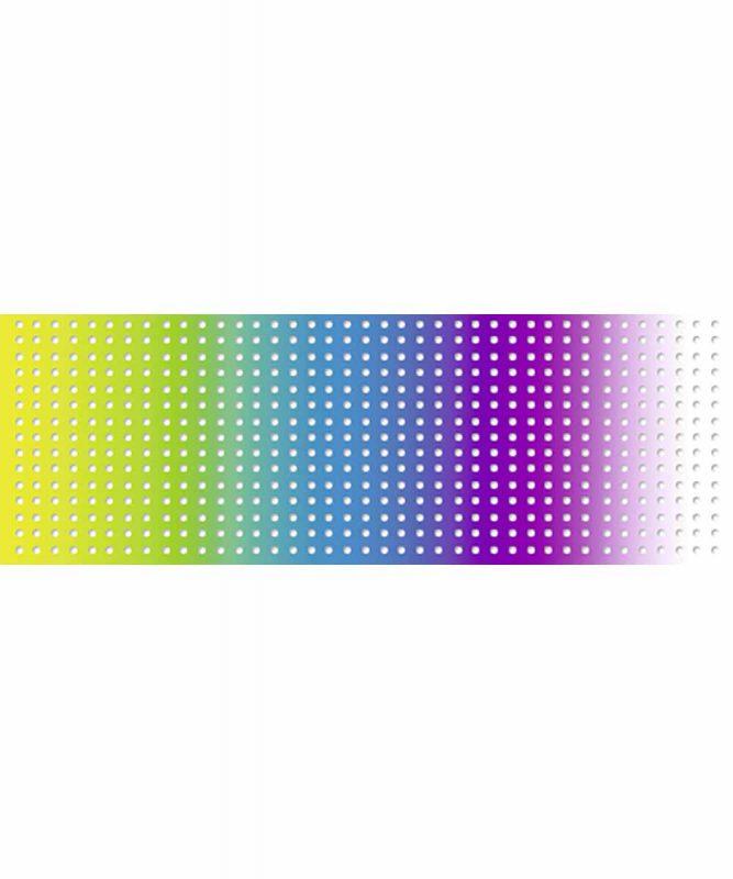 Regenbogen-Lochkarton 34 x 50 cm, 10 Blatt sortiert in verschiedenen Farbkombinationen 300 g/m²