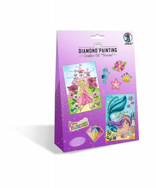 """Diamond Painting """"Creative-Set"""" Princess Artikel Nr.: 43510002"""
