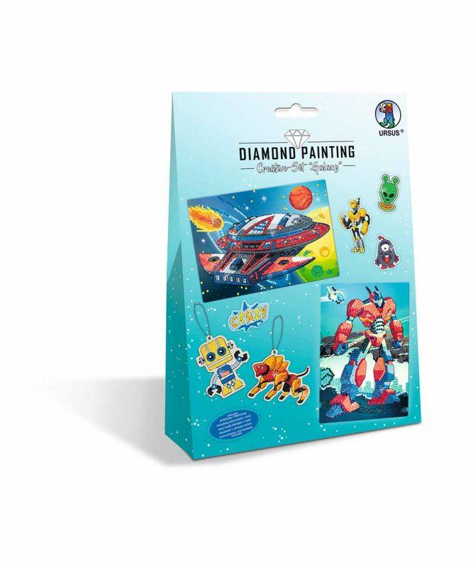 """Diamond Painting """"Creative-Set"""" Galaxy Artikel Nr.: 43510004"""
