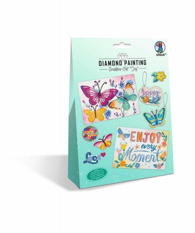 """Diamond Painting """"Creative-Set"""" Joy Artikel Nr.: 43510006"""