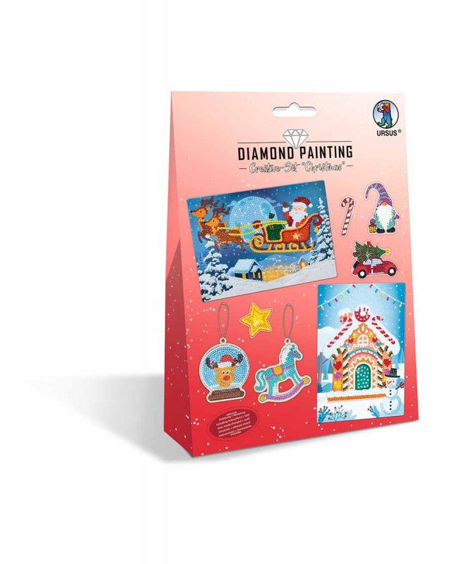"""Diamond Painting """"Creative-Set"""" Christmas Artikel Nr.: 43510007"""