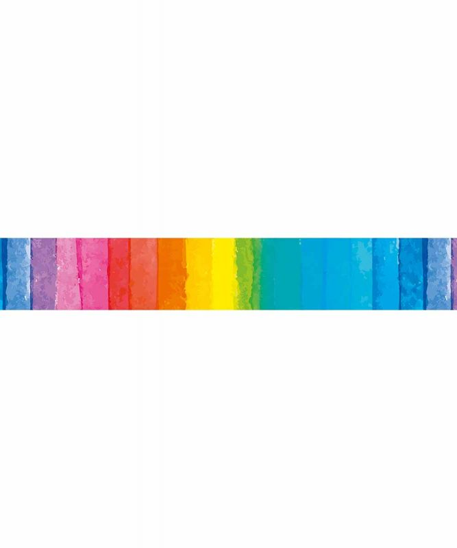 Masking Tape bedruckt Regenbogen 15 mm x 10 m Art.-Nr.: 59090033