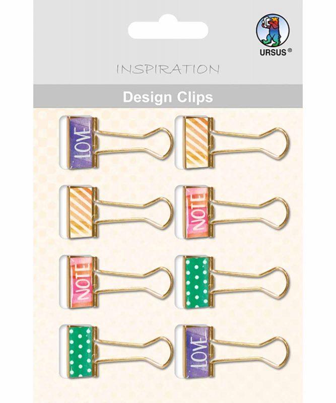 Design Clips 40 x 20 mm
