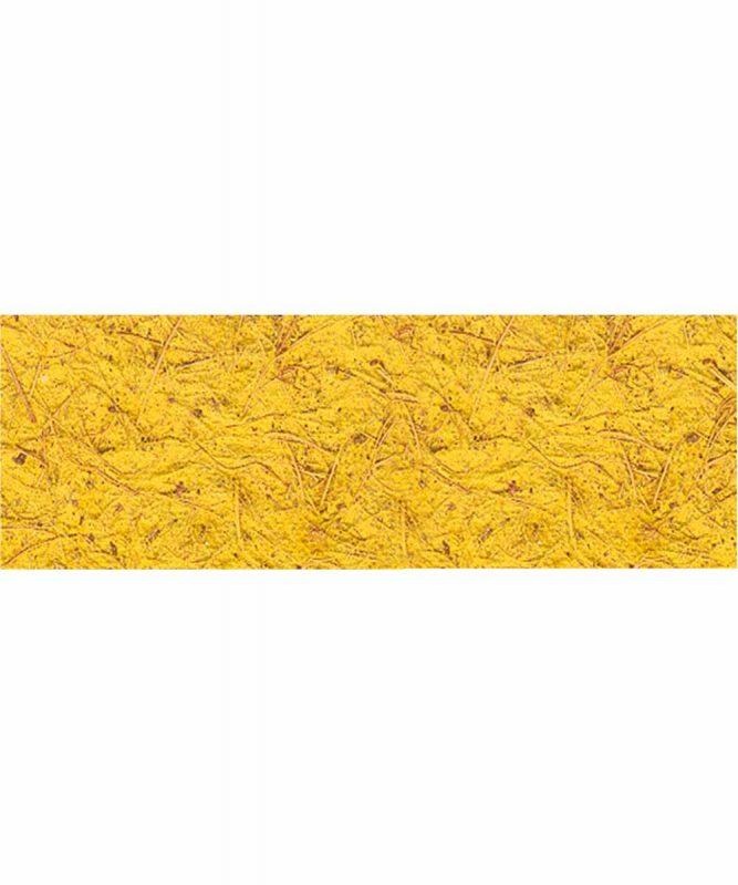 Kokospapier Handgeschöpftes Naturpapier aus Baumwolle, mit Kokosfasern, 250 g/m² 50 x 70 cm Art.-Nr.: 14212213 dunkelgelb