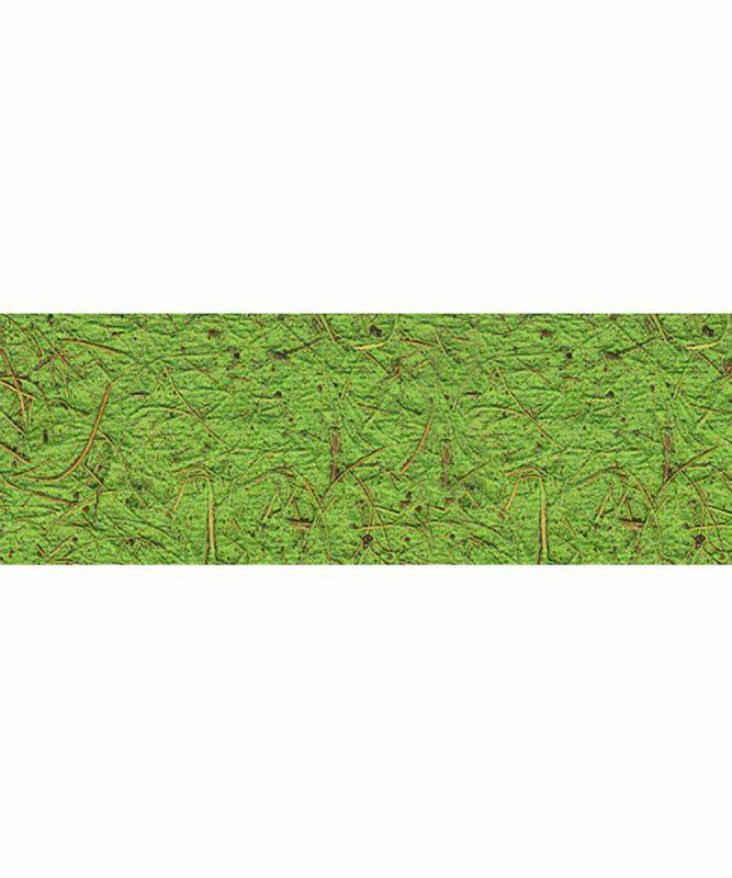 Kokospapier Handgeschöpftes Naturpapier aus Baumwolle, mit Kokosfasern, 250 g/m² 50 x 70 cm Art.-Nr.: 14212251 hellgrün