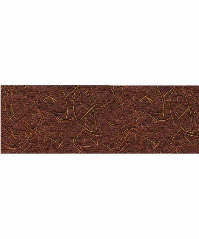 Kokospapier Handgeschöpftes Naturpapier aus Baumwolle, mit Kokosfasern, 250 g/m² 50 x 70 cm Art.-Nr.: 14212272 mittelbraun