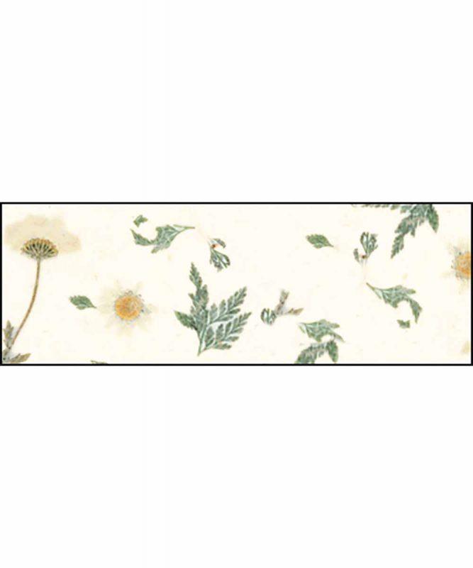 Naturpapier mit Blätter- und Blüteneinschlüssen, 35 g/m² 50 x 70 cm Art.-Nr.: 14572202 Daisy