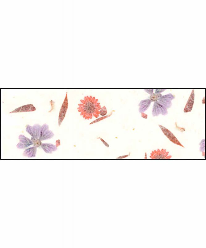 Naturpapier mit Blätter- und Blüteneinschlüssen, 35 g/m² 50 x 70 cm Art.-Nr.: 14572204 Bud